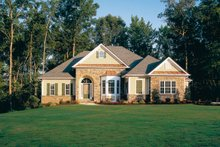 Country Exterior - Front Elevation Plan #927-781