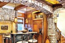Mediterranean Interior - Kitchen Plan #930-70