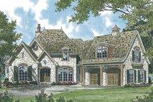House Plan Design - European Exterior - Front Elevation Plan #453-543