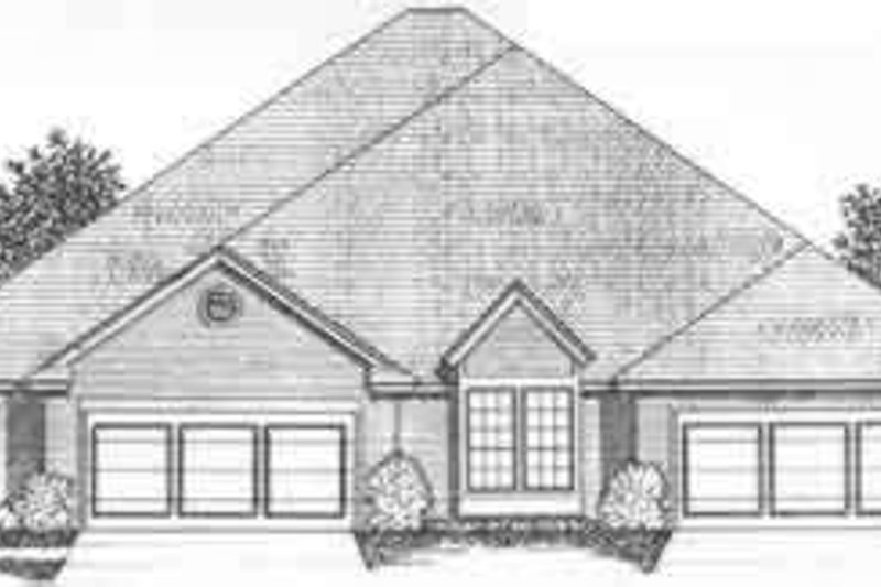 Traditional Exterior - Front Elevation Plan #310-457