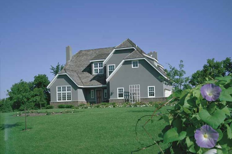 Home Plan - Colonial Exterior - Front Elevation Plan #320-741