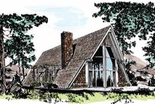Exterior - Front Elevation Plan #315-117