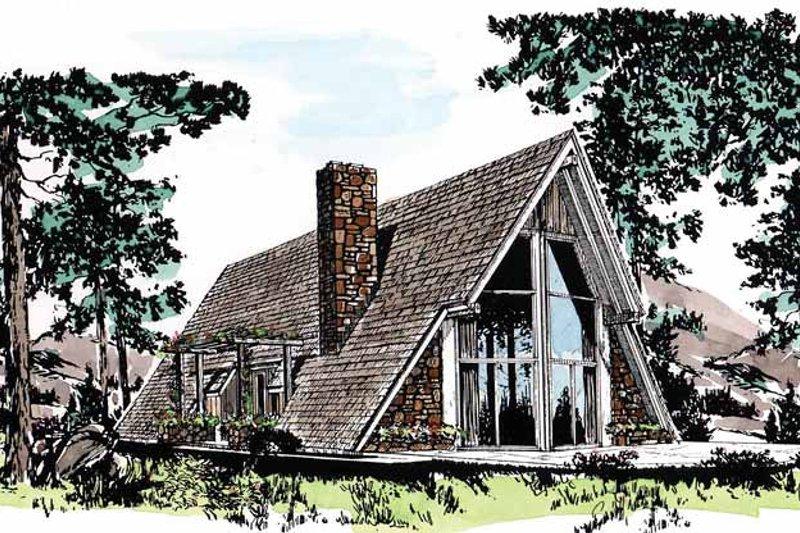 House Plan Design - Exterior - Front Elevation Plan #315-117