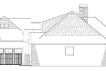 House Plan Design - European Exterior - Other Elevation Plan #17-3403