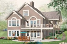 Architectural House Design - European Exterior - Front Elevation Plan #23-2421
