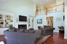 Craftsman Interior - Family Room Plan #137-332