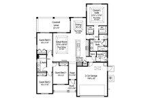 Farmhouse Floor Plan - Main Floor Plan Plan #938-106