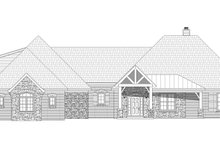 House Plan Design - Country Exterior - Front Elevation Plan #932-289