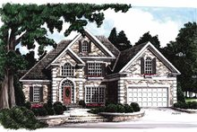House Plan Design - Traditional Exterior - Front Elevation Plan #927-70