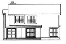 Craftsman Exterior - Rear Elevation Plan #320-531