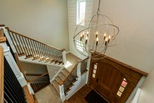 Architectural House Design - Craftsman Interior - Entry Plan #70-1471