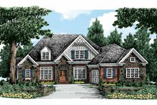 Dream House Plan - Traditional Exterior - Front Elevation Plan #927-324