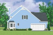 Colonial Style House Plan - 4 Beds 3.5 Baths 2043 Sq/Ft Plan #72-1122 Exterior - Other Elevation