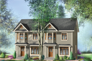 Traditional Style House Plan - 5 Beds 2 Baths 2434 Sq/Ft Plan #25-4519 Exterior - Front Elevation