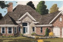 House Plan Design - Country Exterior - Front Elevation Plan #46-537