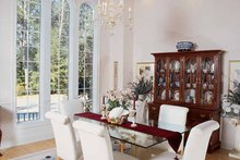 House Plan Design - Mediterranean Interior - Dining Room Plan #54-187