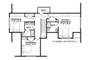 Traditional Style House Plan - 3 Beds 2.5 Baths 2725 Sq/Ft Plan #928-288 Floor Plan - Upper Floor Plan