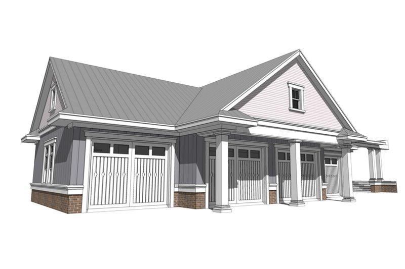 Farmhouse Exterior - Front Elevation Plan #64-249 - Houseplans.com