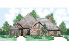 Traditional Exterior - Front Elevation Plan #52-270