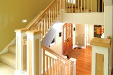 House Design - Prairie Interior - Entry Plan #928-38