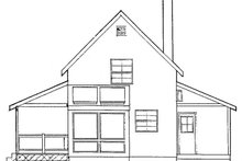 Architectural House Design - Traditional Exterior - Other Elevation Plan #60-894