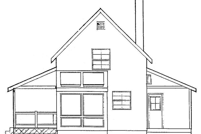 Traditional Exterior - Other Elevation Plan #60-894 - Houseplans.com