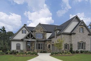 Home Plan Design - Craftsman Exterior - Front Elevation Plan #54-274