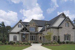 House Plan Design - Craftsman Exterior - Front Elevation Plan #54-274