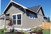 Craftsman Style House Plan - 3 Beds 2 Baths 1520 Sq/Ft Plan #895-35 Exterior - Other Elevation