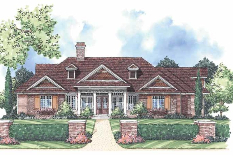 Country Exterior - Front Elevation Plan #930-246 - Houseplans.com