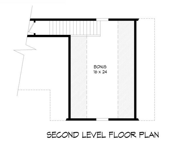 Country Floor Plan - Upper Floor Plan Plan #932-77