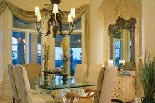 Home Plan - Mediterranean Interior - Dining Room Plan #930-188