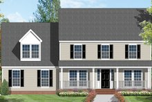 House Plan Design - Country Exterior - Front Elevation Plan #1053-20