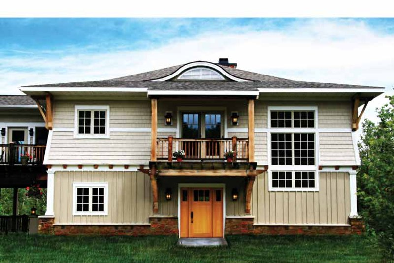 Craftsman Exterior - Front Elevation Plan #928-112 - Houseplans.com