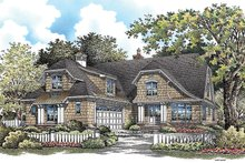House Plan Design - European Exterior - Front Elevation Plan #929-922