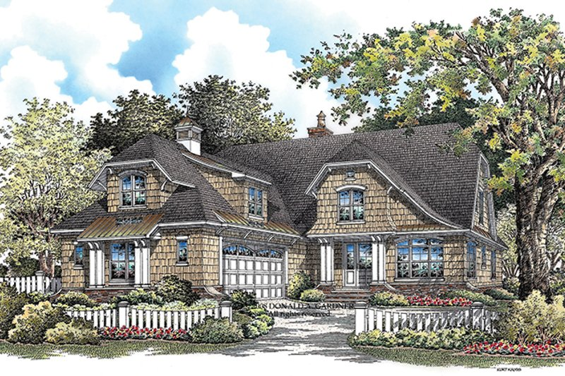 European Exterior - Front Elevation Plan #929-922 - Houseplans.com