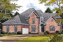 Traditional Exterior - Front Elevation Plan #453-219