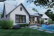 Cottage Style House Plan - 3 Beds 2.5 Baths 1988 Sq/Ft Plan #120-269 Exterior - Other Elevation