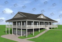 Home Plan - Country Exterior - Other Elevation Plan #932-175