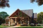 Farmhouse Style House Plan - 3 Beds 2.5 Baths 2144 Sq/Ft Plan #923-91 Exterior - Rear Elevation