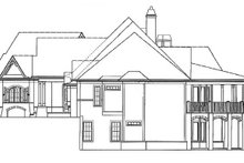 Home Plan - Craftsman Exterior - Other Elevation Plan #54-352