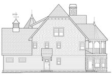 Craftsman Exterior - Other Elevation Plan #928-34
