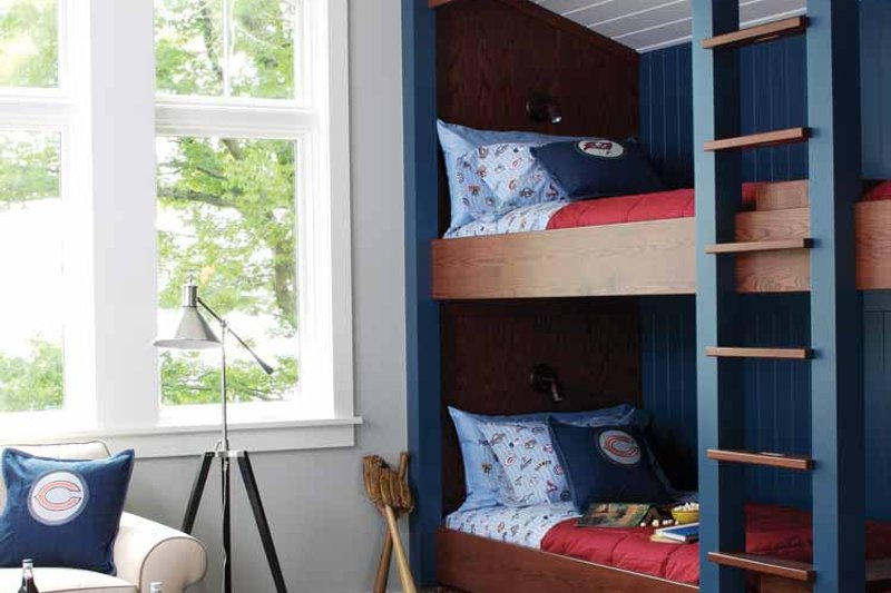 Craftsman Interior - Bedroom Plan #928-64 - Houseplans.com