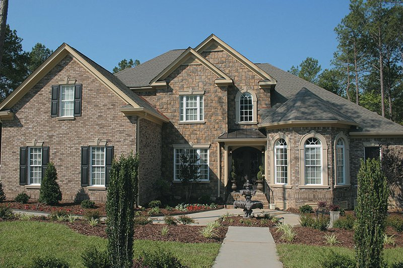 House Design - Colonial Exterior - Front Elevation Plan #927-587