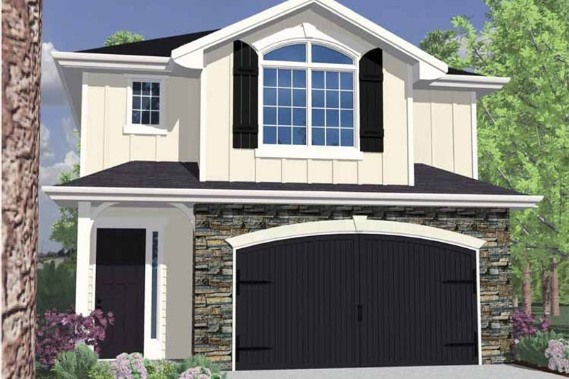 Architectural House Design - Traditional Exterior - Front Elevation Plan #509-169