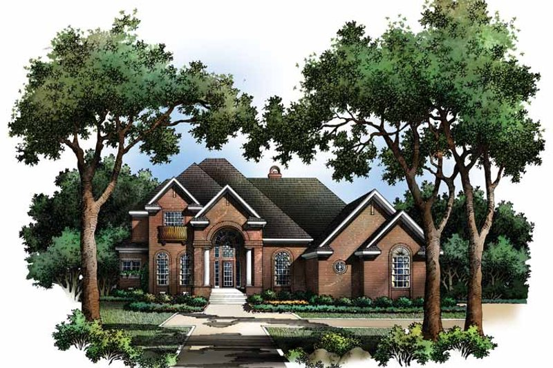 Traditional Exterior - Front Elevation Plan #952-235