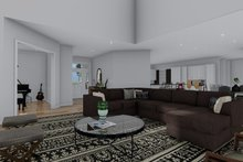 Craftsman Interior - Family Room Plan #1060-53
