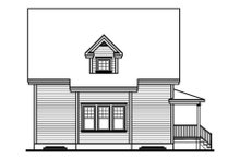House Plan Design - Country Exterior - Rear Elevation Plan #23-487