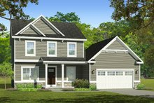 House Plan Design - Traditional Exterior - Front Elevation Plan #1010-220