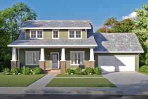 House Plan Design - Craftsman Exterior - Front Elevation Plan #1079-2